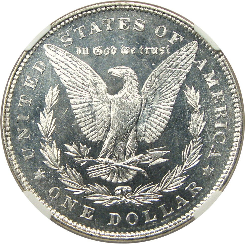 sample image for 1878 7TF $1  MS DMPL Reverse of 1878
