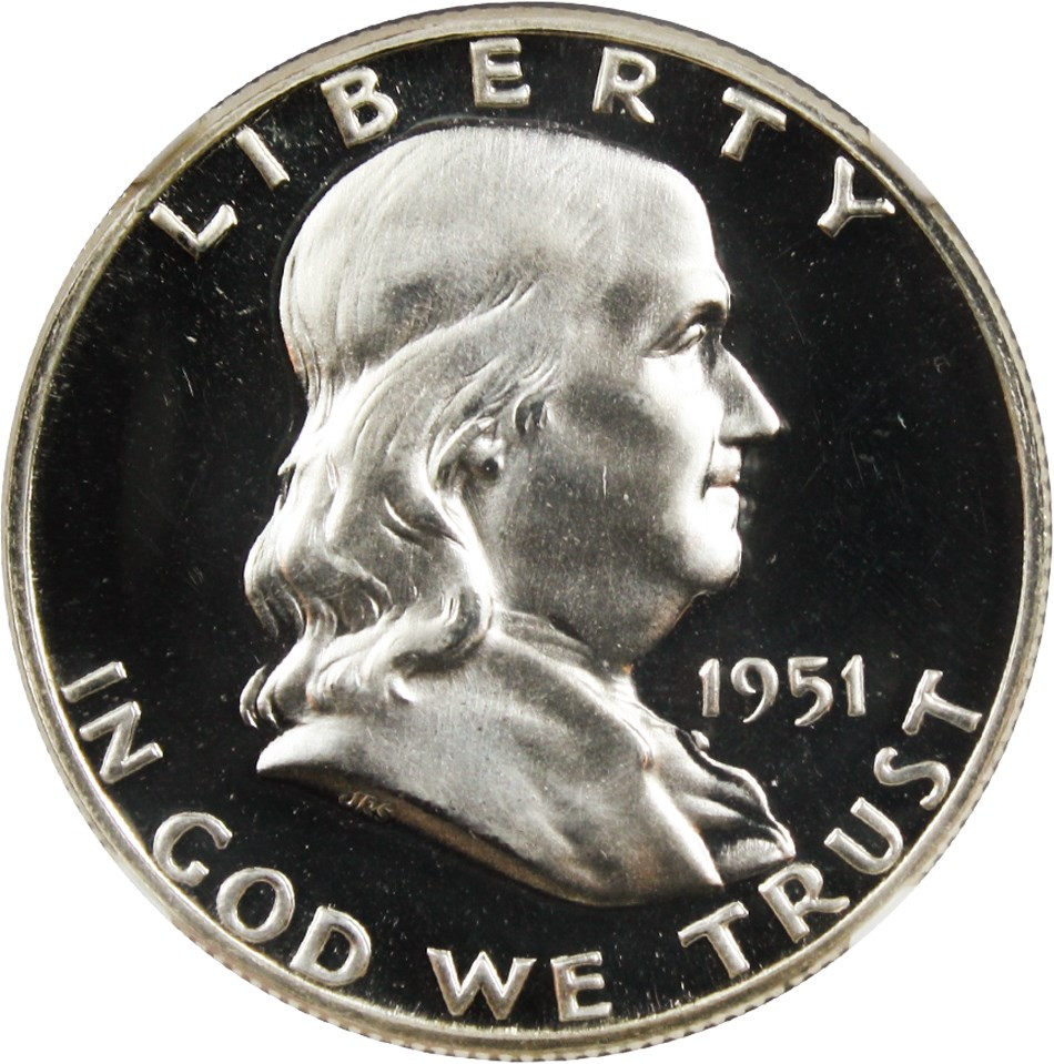sample image for 1951 50c PR DCAM