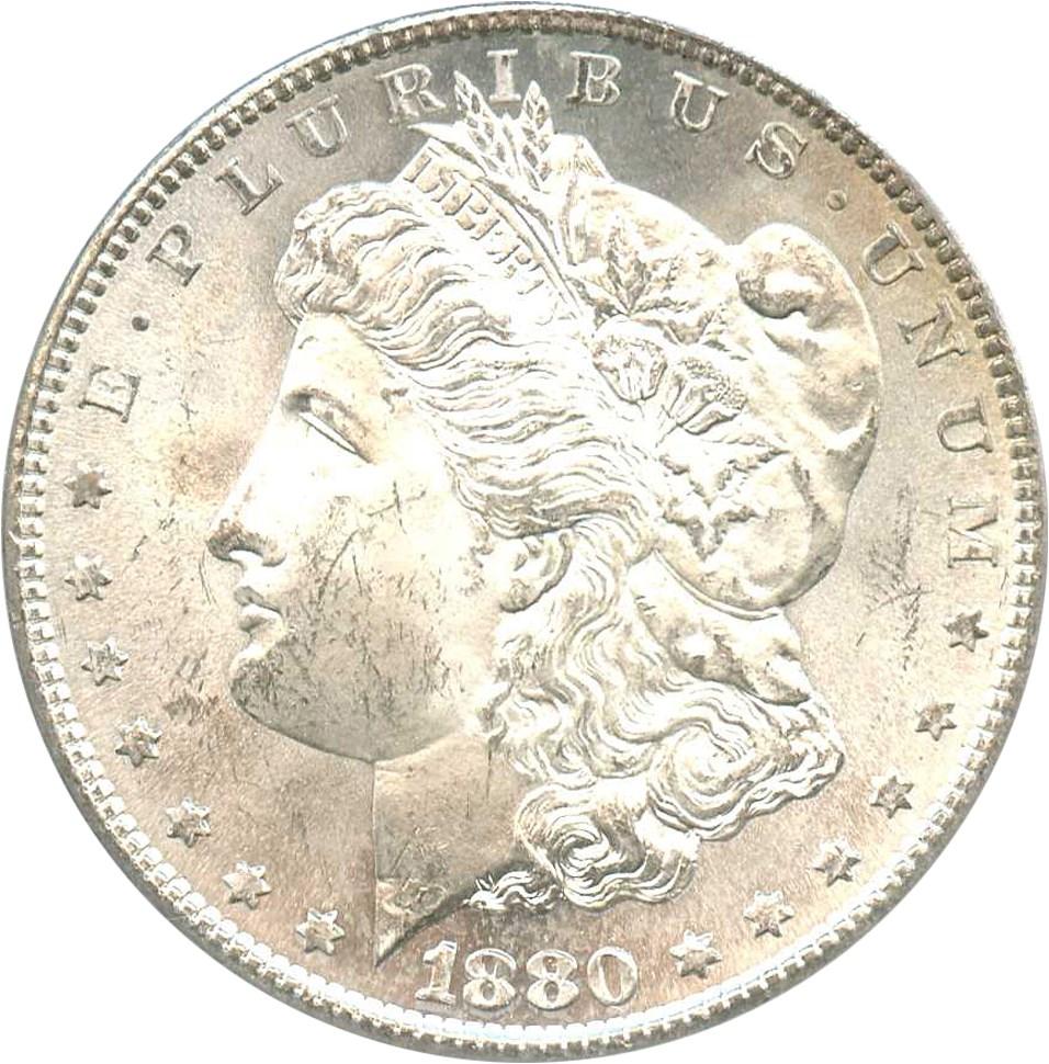 sample image for 1880-S $1  MS VAM-10, 8/7 Crossbar