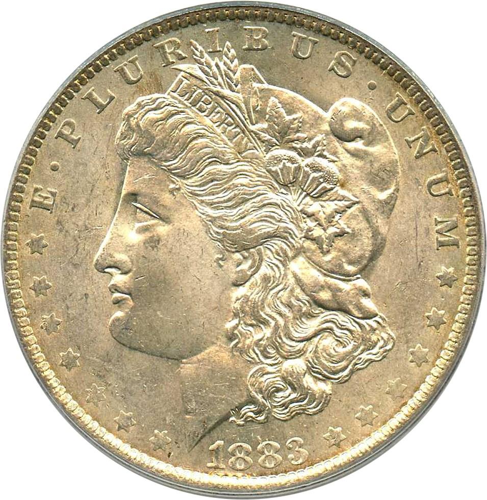 sample image for 1883-O $1  MS VAM-4, O/O