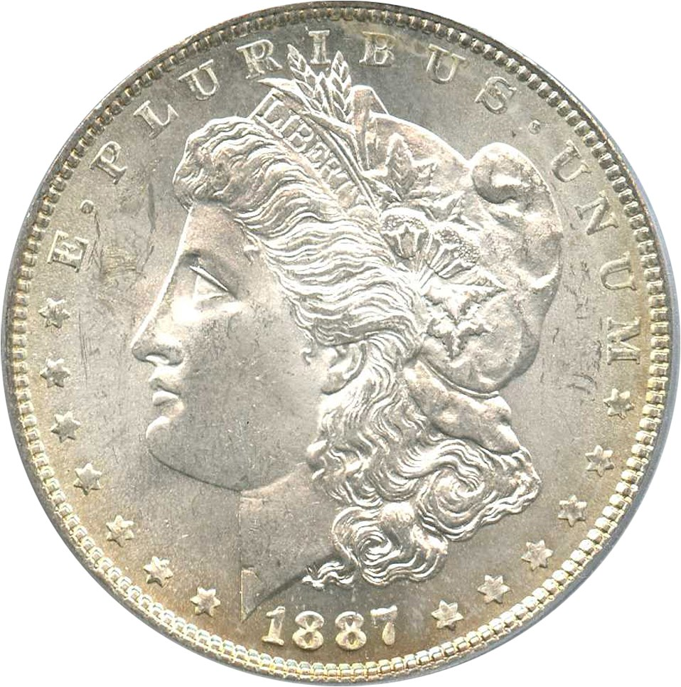sample image for 1887 $1  MS VAM-5, Doubled Date