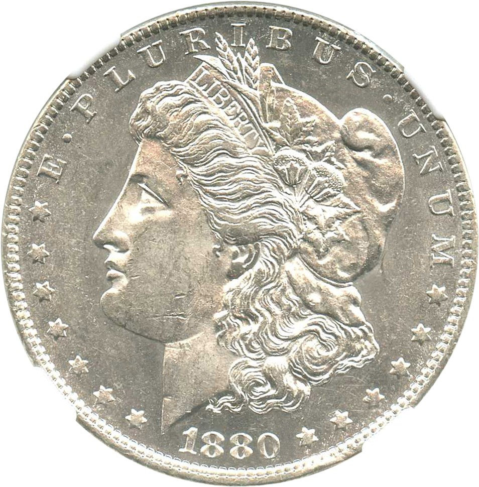 sample image for 1880-O $1  MS VAM-43, Doubled Ear