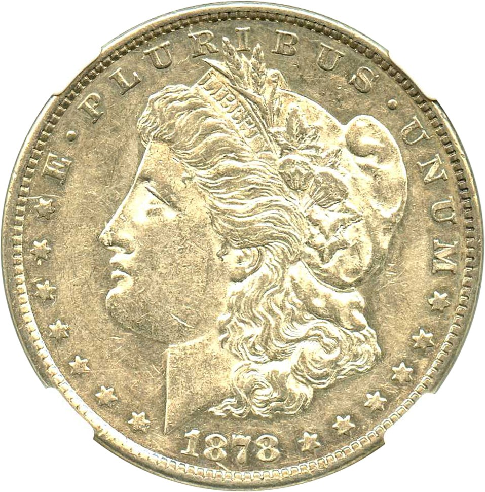 sample image for 1878-CC $1  MS VAM-18, Doubled Leaves