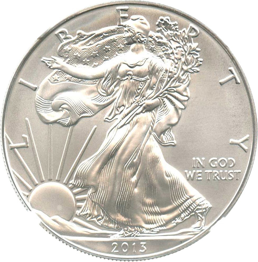 sample image for 2013-(W) Silver Eagle $1  MS