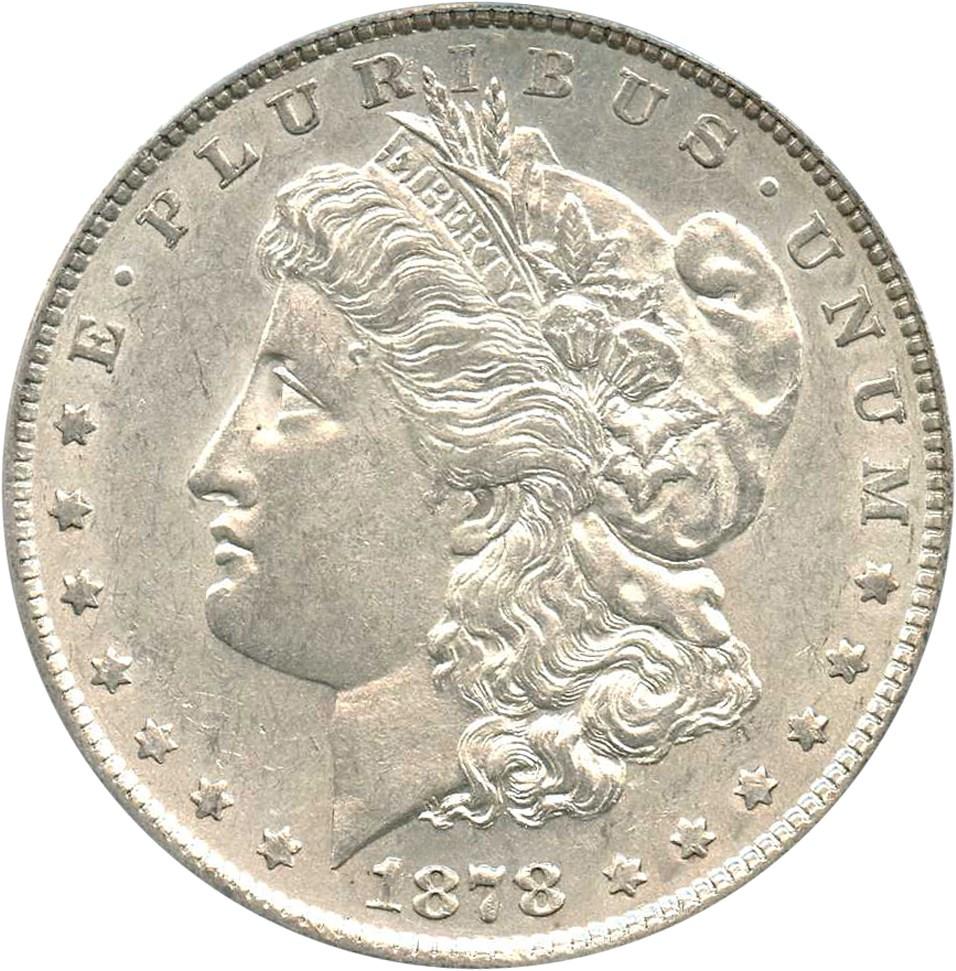 sample image for 1878 7TF Reverse of 1879 $1  MS VAM-220, Tripled R