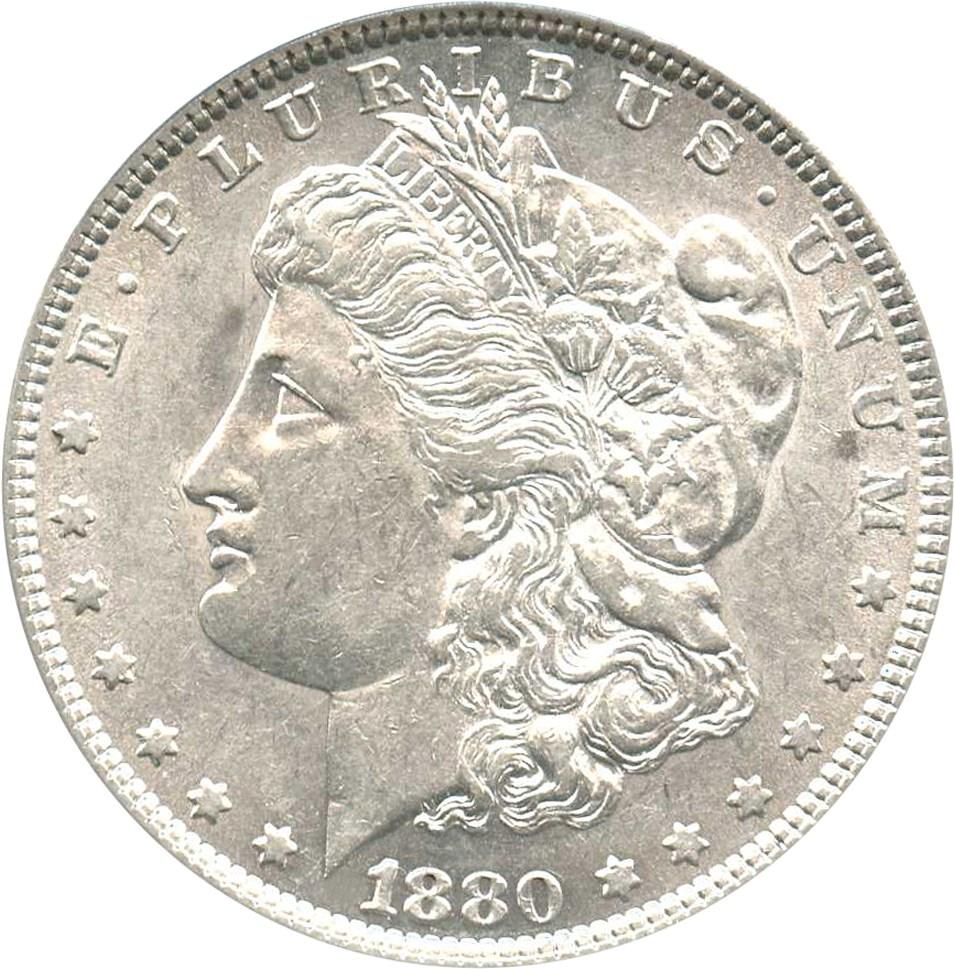 sample image for 1880 $1  MS VAM-23, 80/79