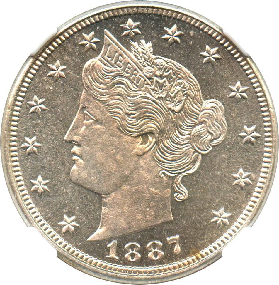 sample image for 1887 5c PR CAM