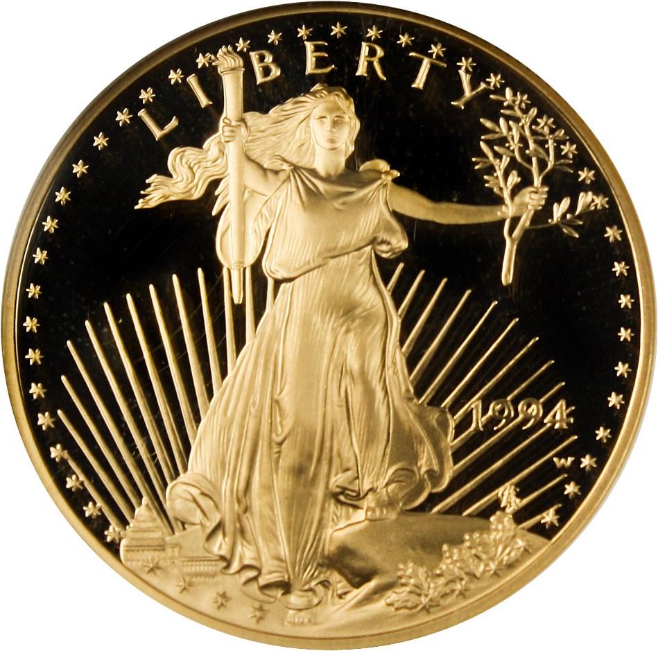 sample image for 1994-W Gold Eagle $50  PR DCAM