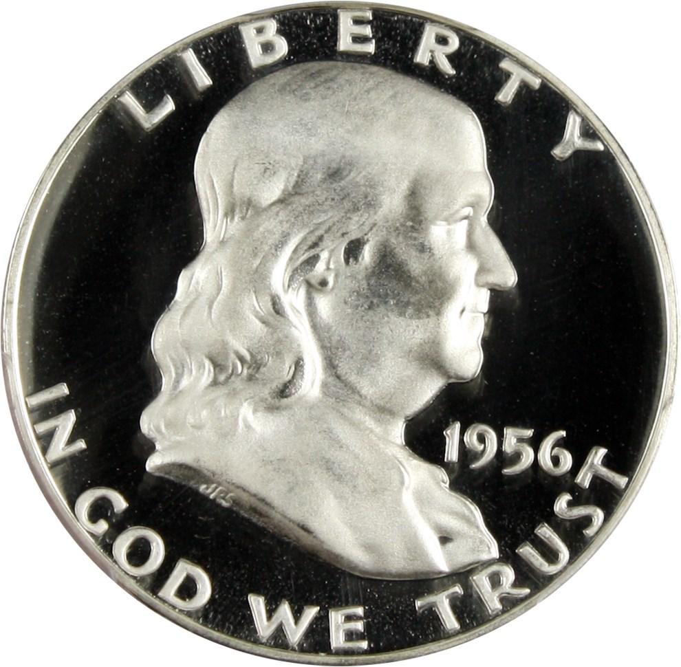 sample image for 1956 Type 2 50c PR CAM