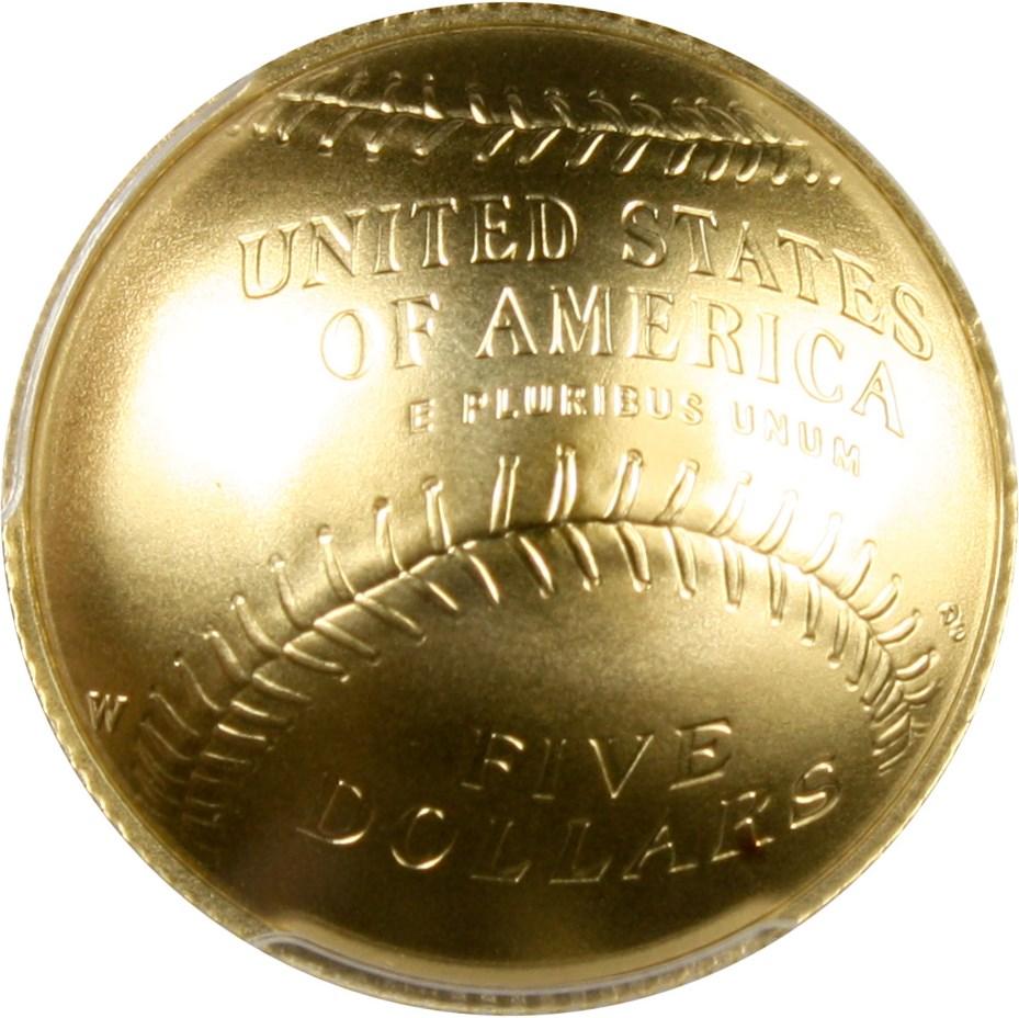 sample image for 2014-W Baseball Hall of Fame $5  MS