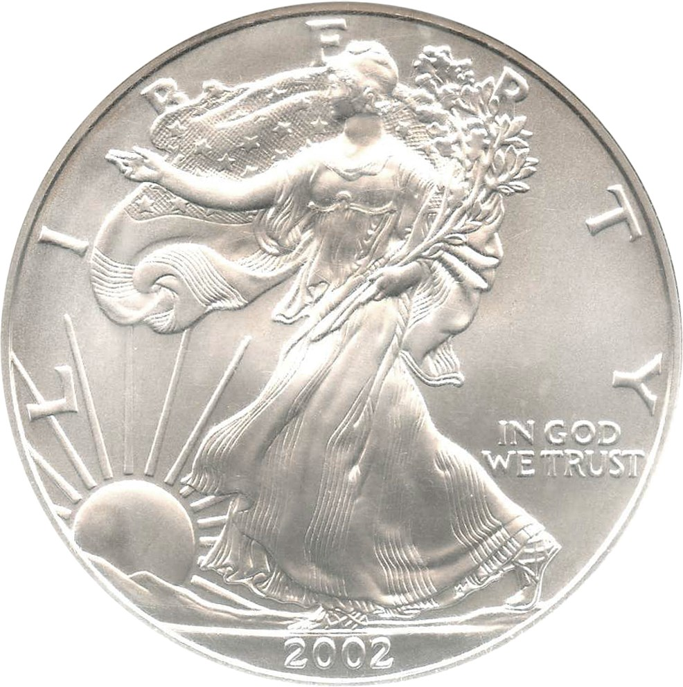 sample image for 2002 Silver Eagle $1  MS