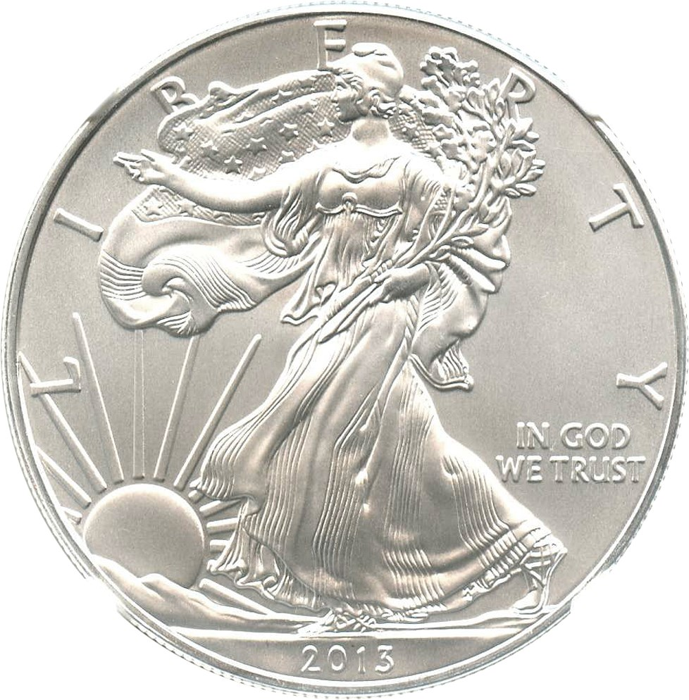 sample image for 2013 Silver Eagle $1  MS