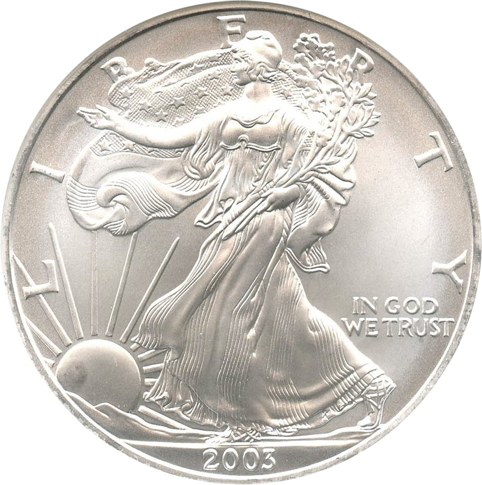 sample image for 2003 Silver Eagle $1  MS