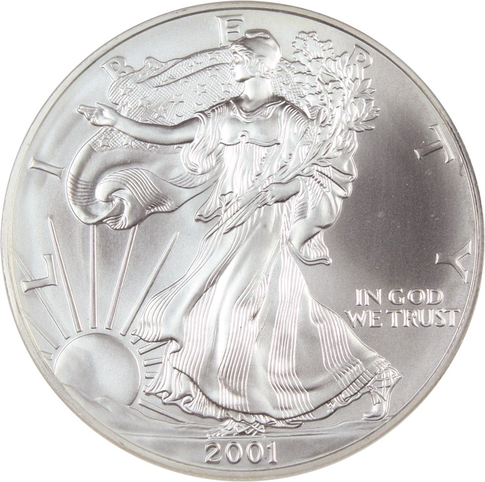 sample image for 2001 Silver Eagle $1  MS