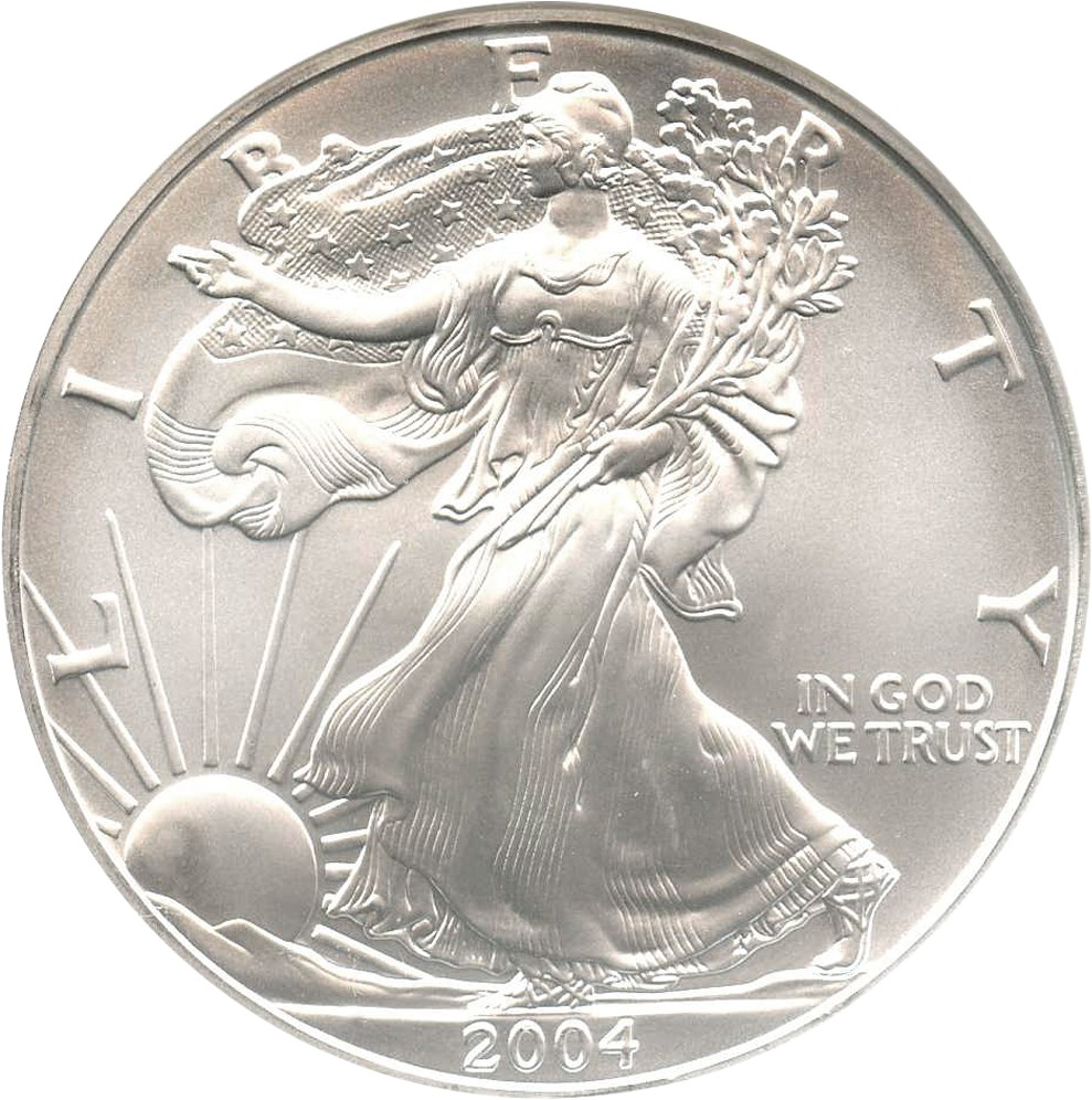 sample image for 2004 Silver Eagle $1  MS