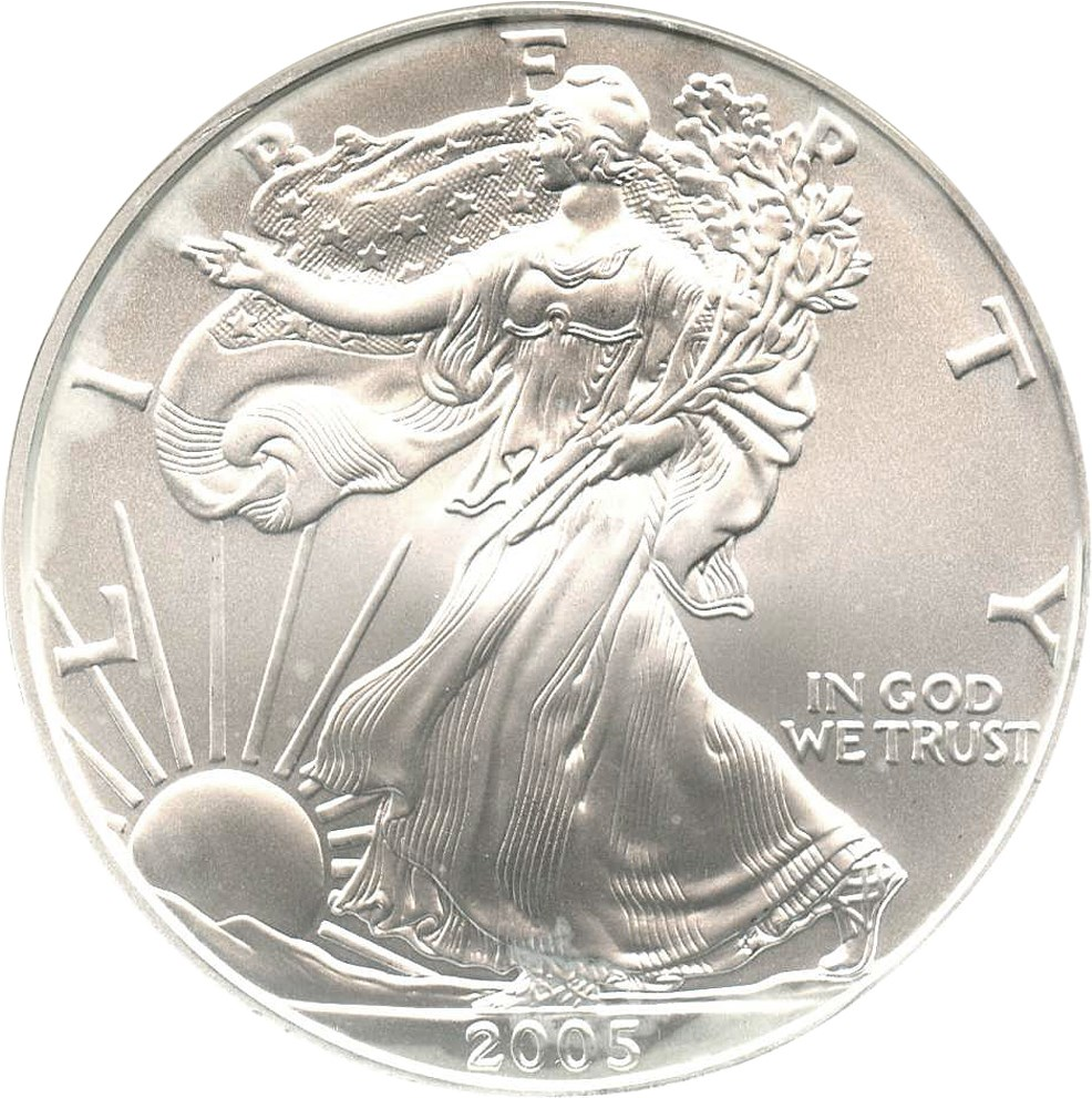 sample image for 2005 Silver Eagle $1  MS