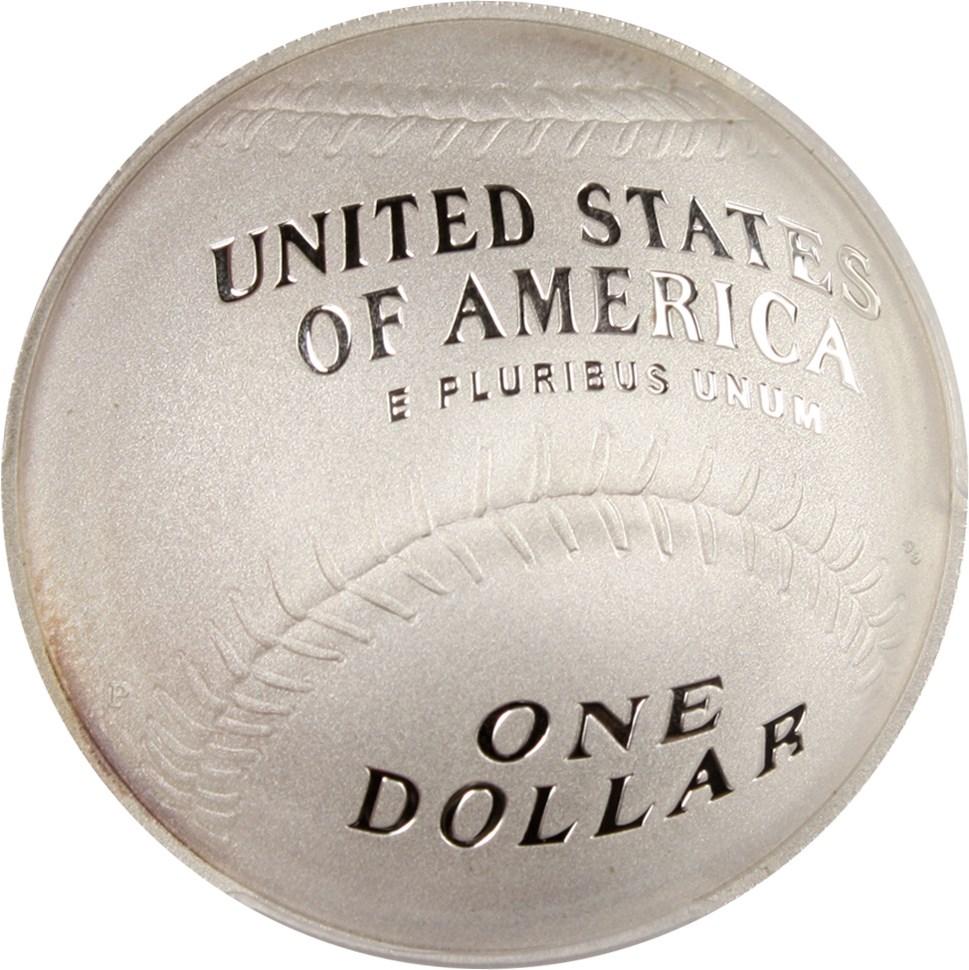 sample image for 2014-P Baseball Hall of Fame $1  PR DCAM