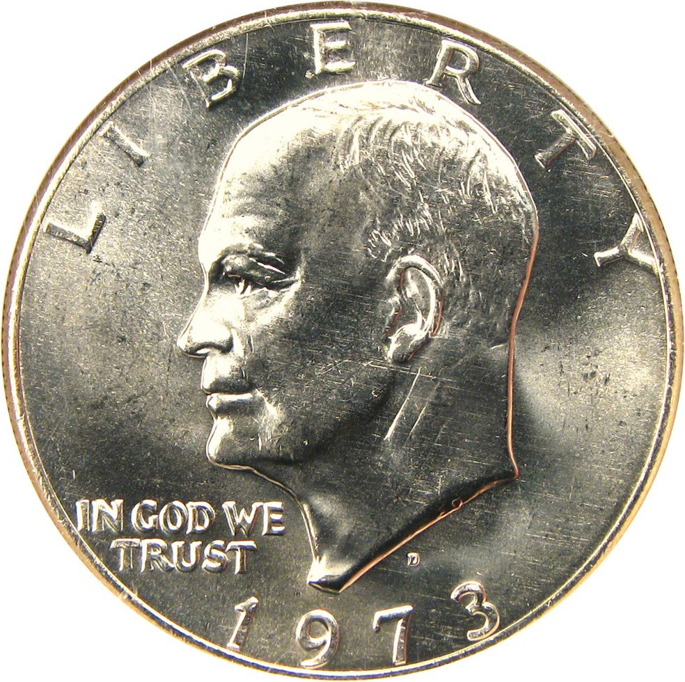 sample image for 1973-D $1  MS