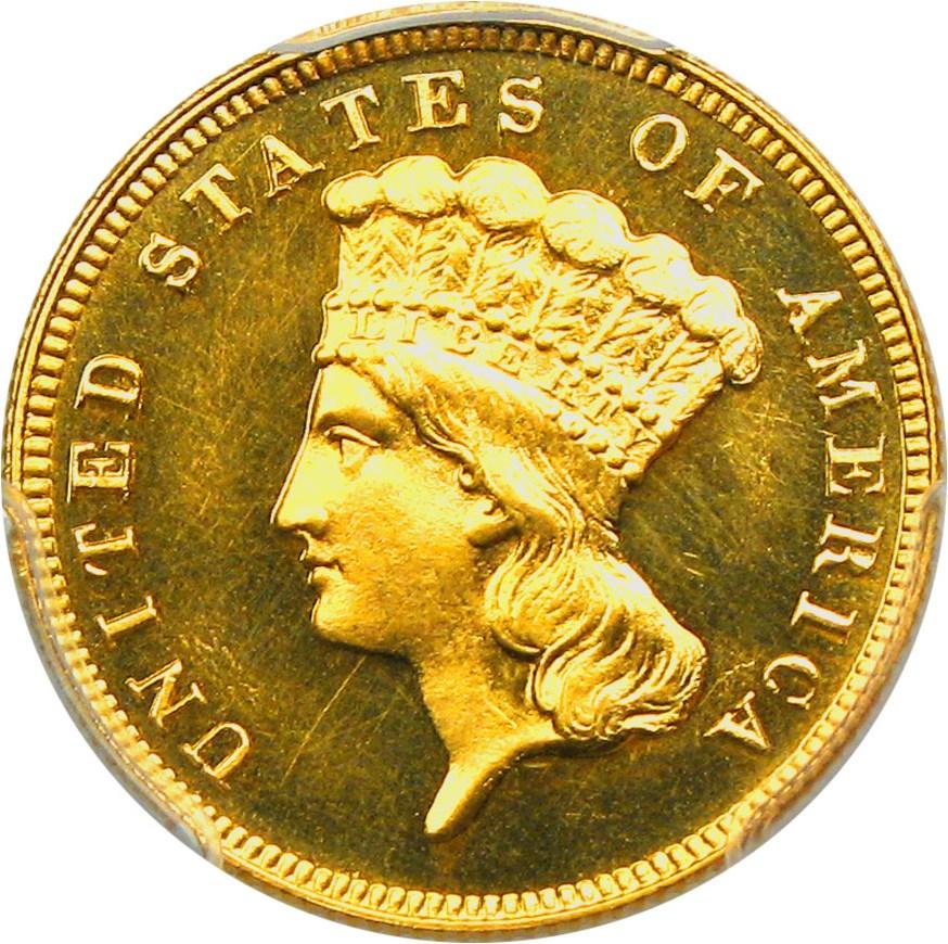 sample image for 1889 $3  PR DCAM