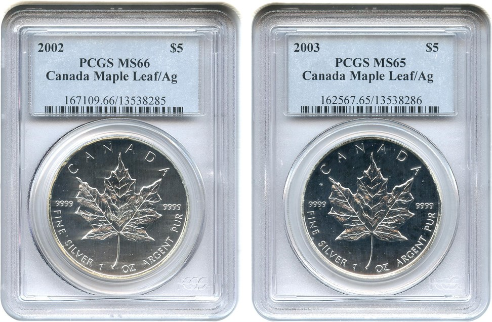 sample image for 2000 Maple Leaf $5  MS