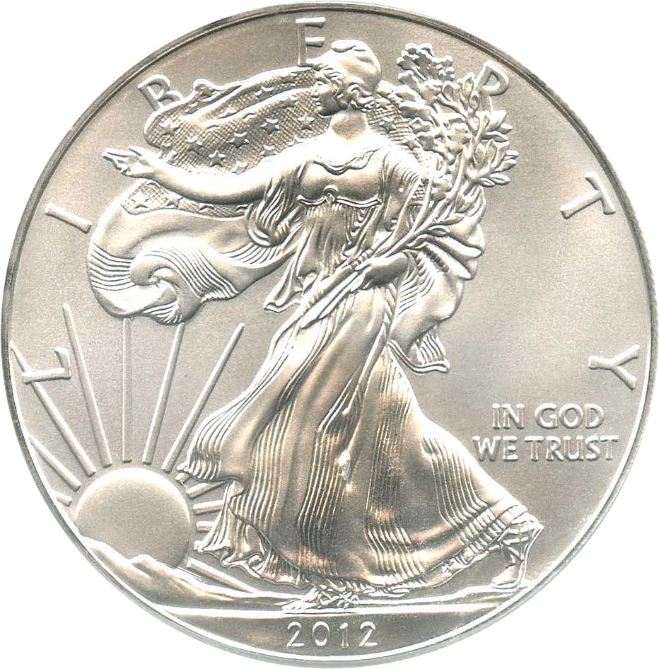 sample image for 2012 Silver Eagle $1  MS