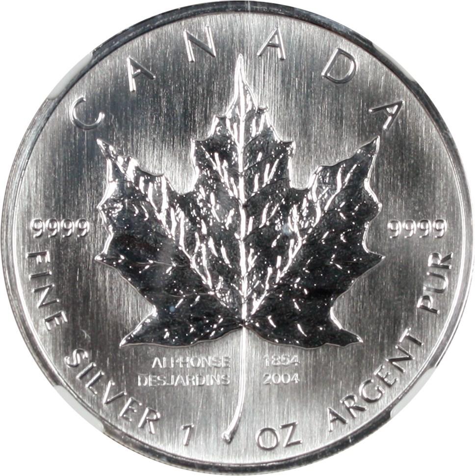 sample image for 2004 Maple Leaf $5  MS