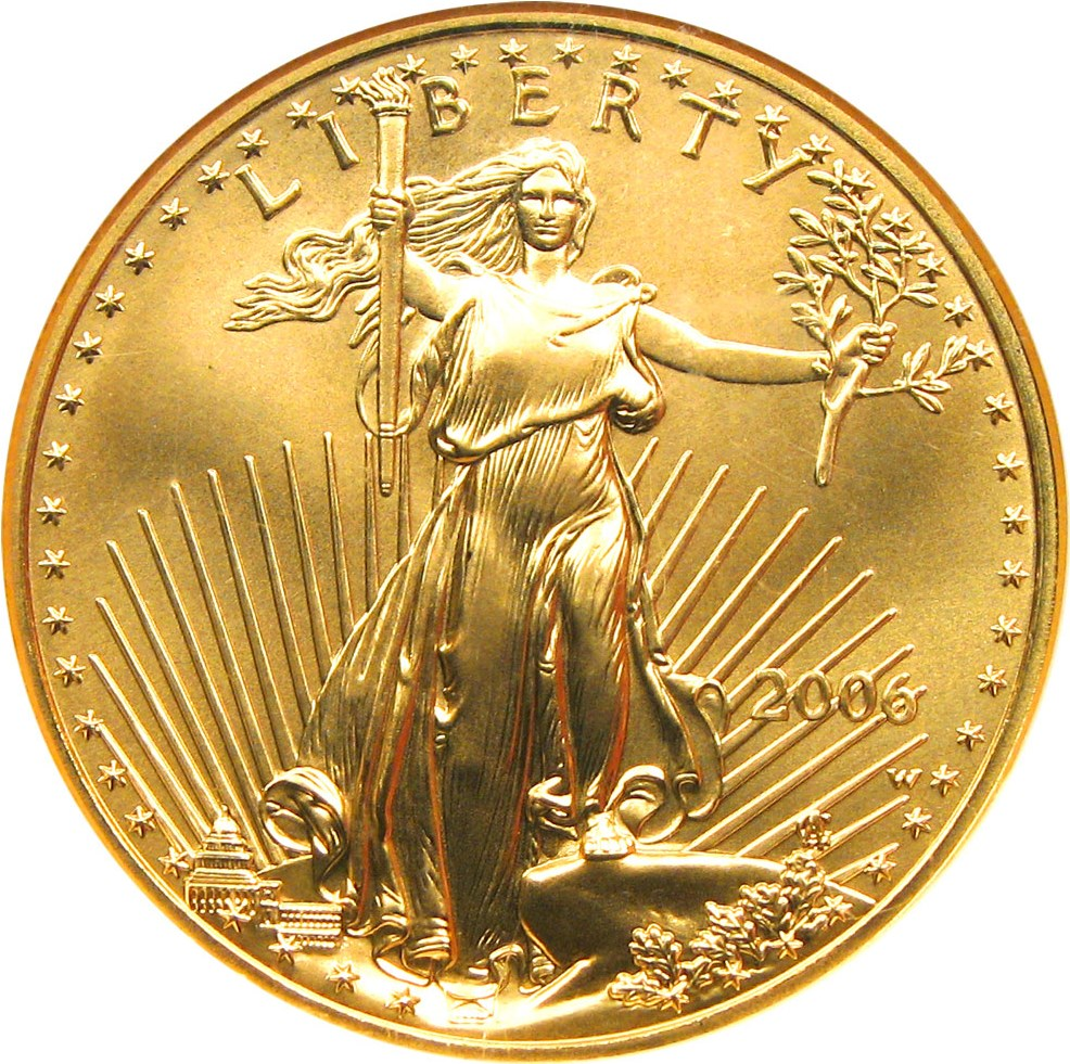sample image for 2006 Gold Eagle $50  MS