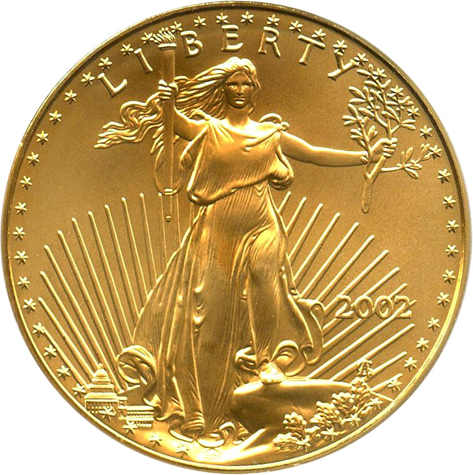 sample image for 2002 Gold Eagle $50  MS