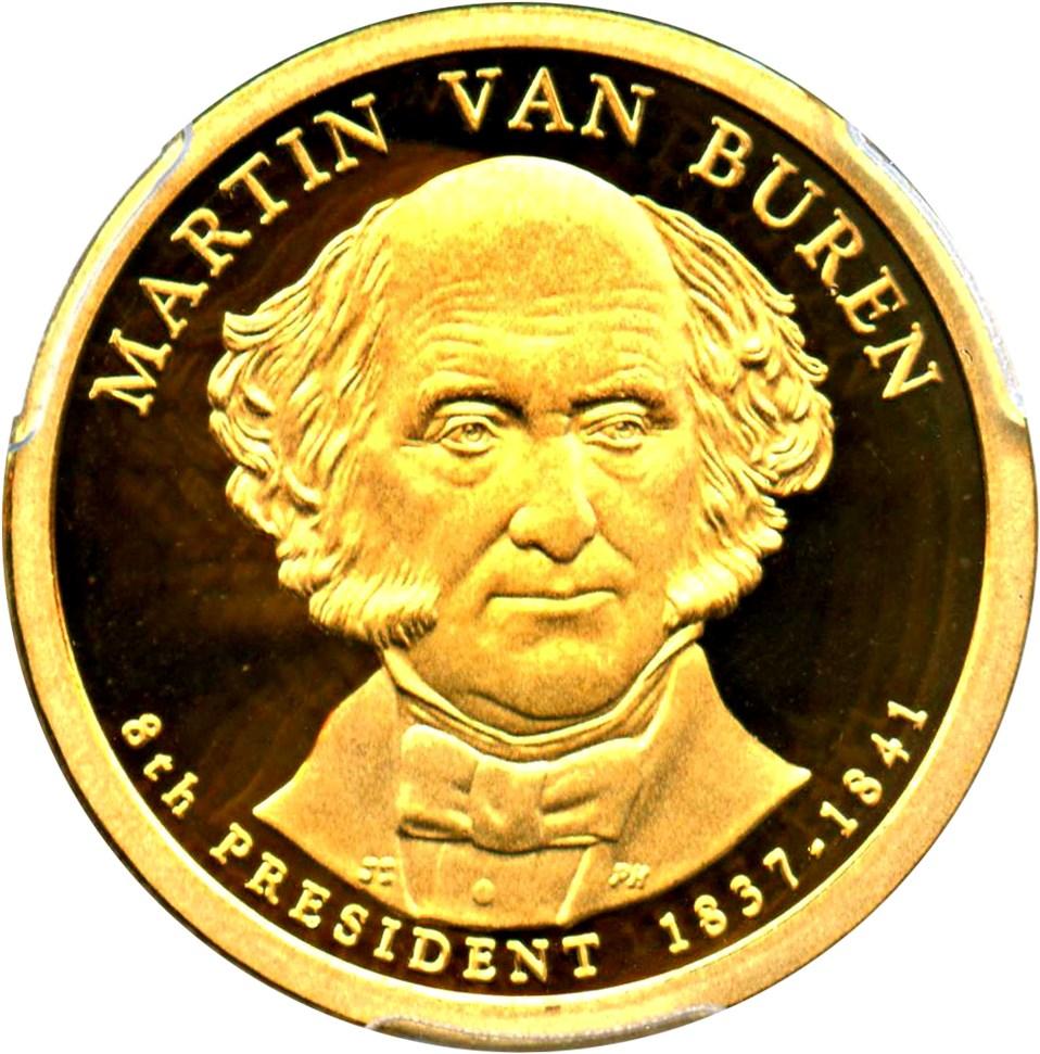 sample image for 2008-S Martin Van Buren $1  PR DCAM