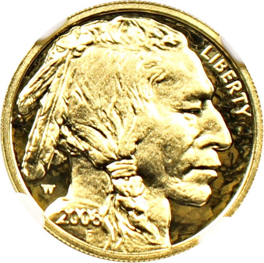 sample image for 2008-W American Buffalo $5 PR DCAM