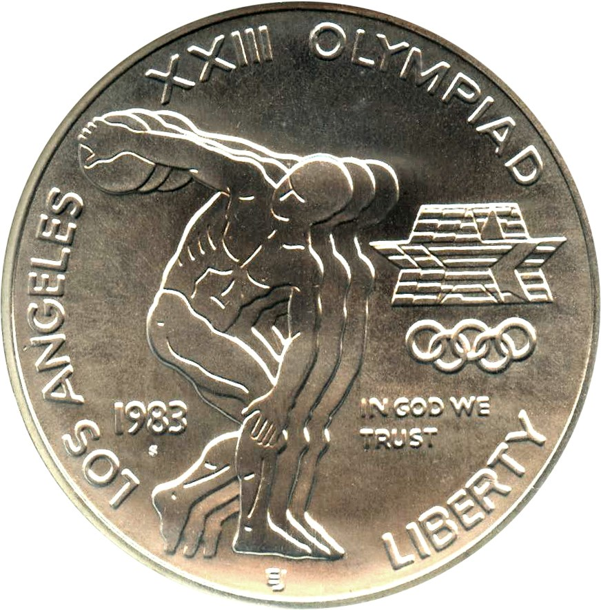 sample image for 1983-S Olympic $1  MS