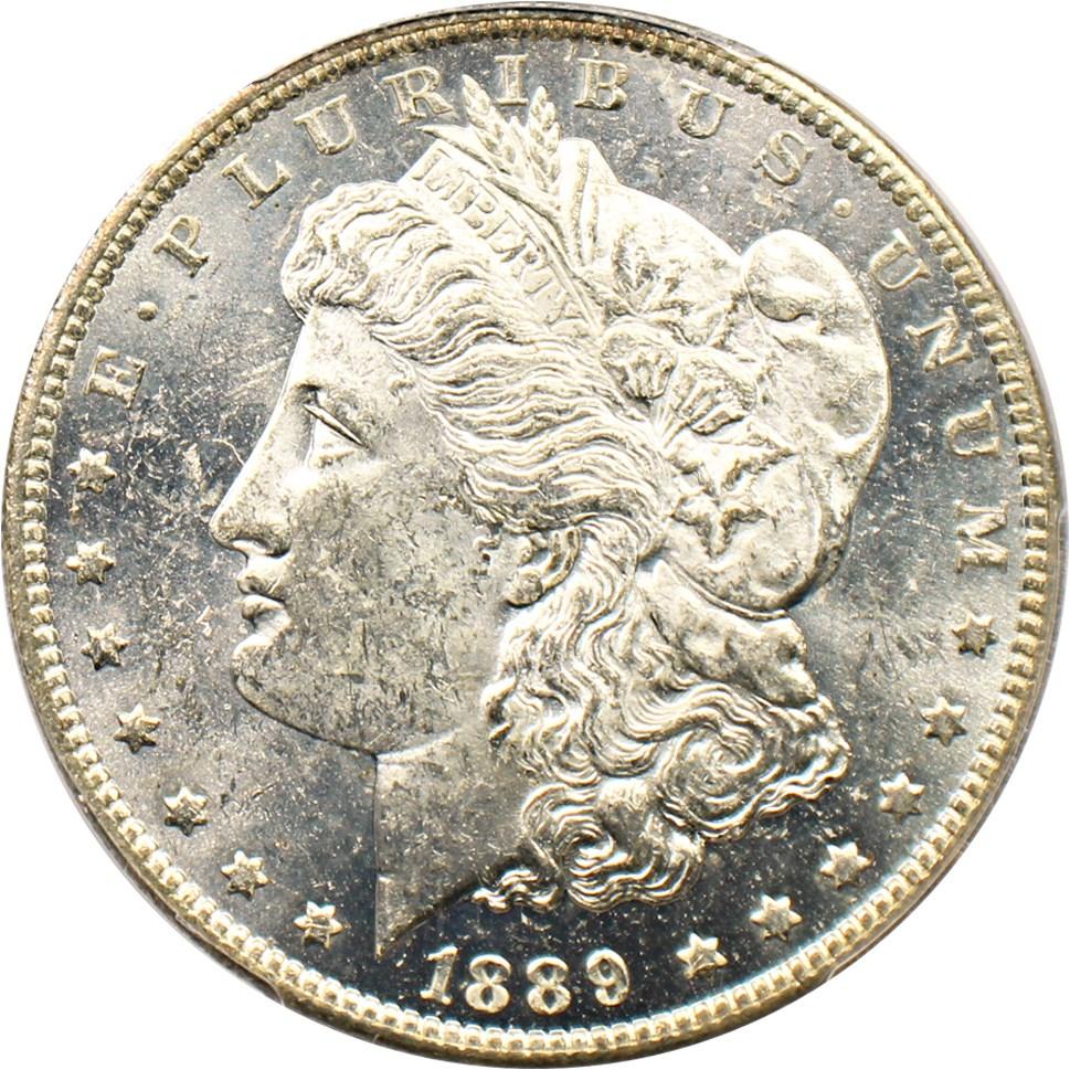 sample image for 1889-O $1  MS DMPL