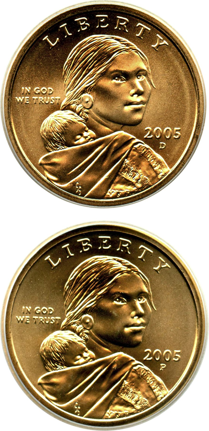sample image for 2005-P $1  SP Satin Finish
