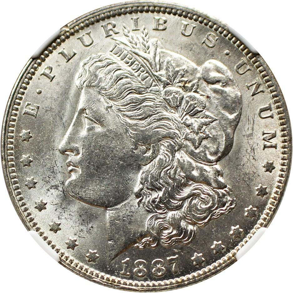 sample image for 1887-O $1  MS VAM-22B