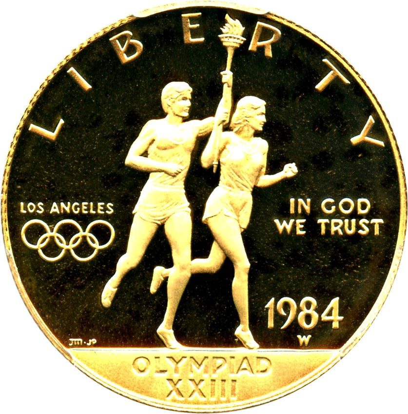 sample image for 1984-W Olympic $10  PR DCAM