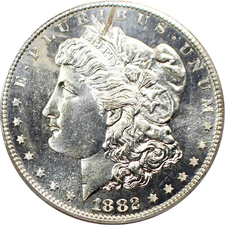sample image for 1882-S $1  MS DMPL