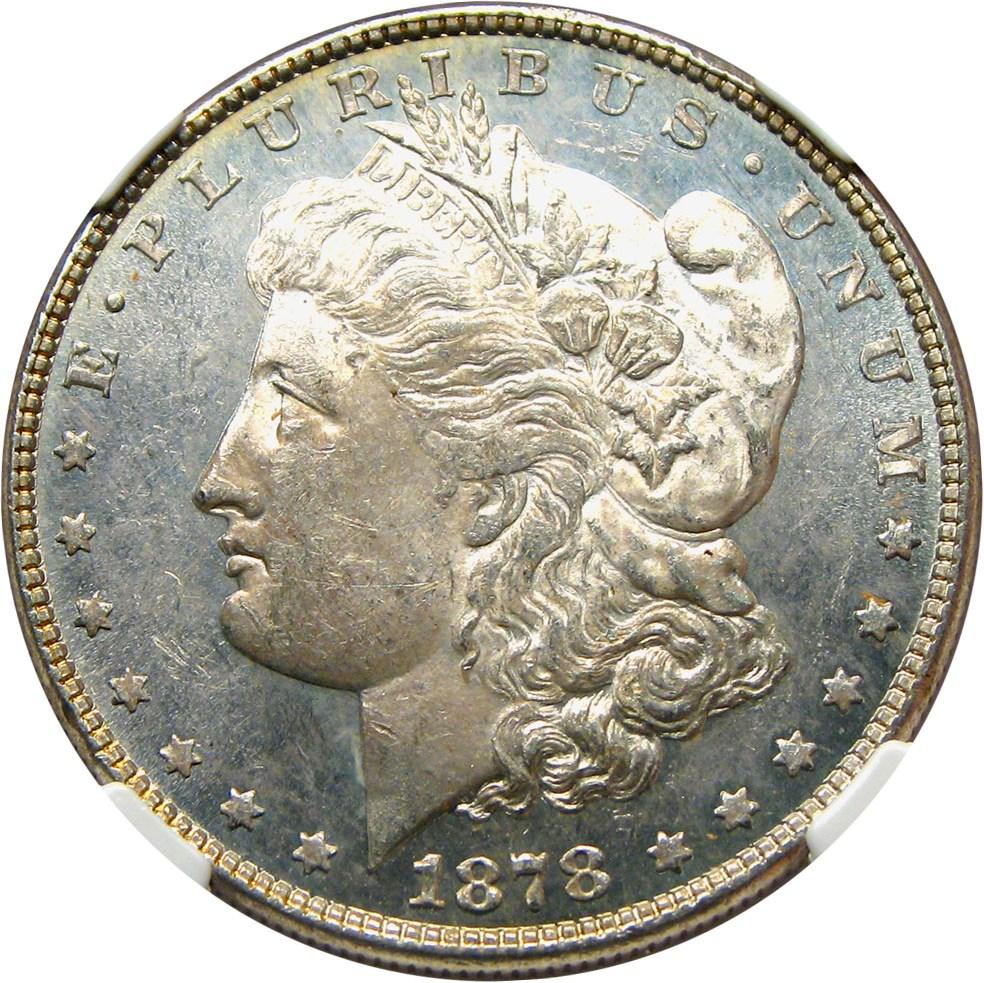 sample image for 1878 8TF $1  MS VAM-23, Crazy Lips