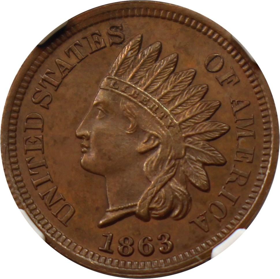 sample image for 1863 J-299 P1c PR BN