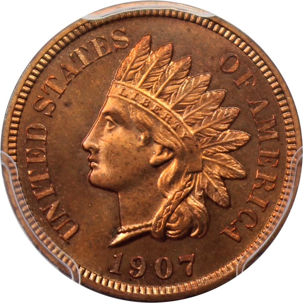 sample image for 1907 1c PR RB