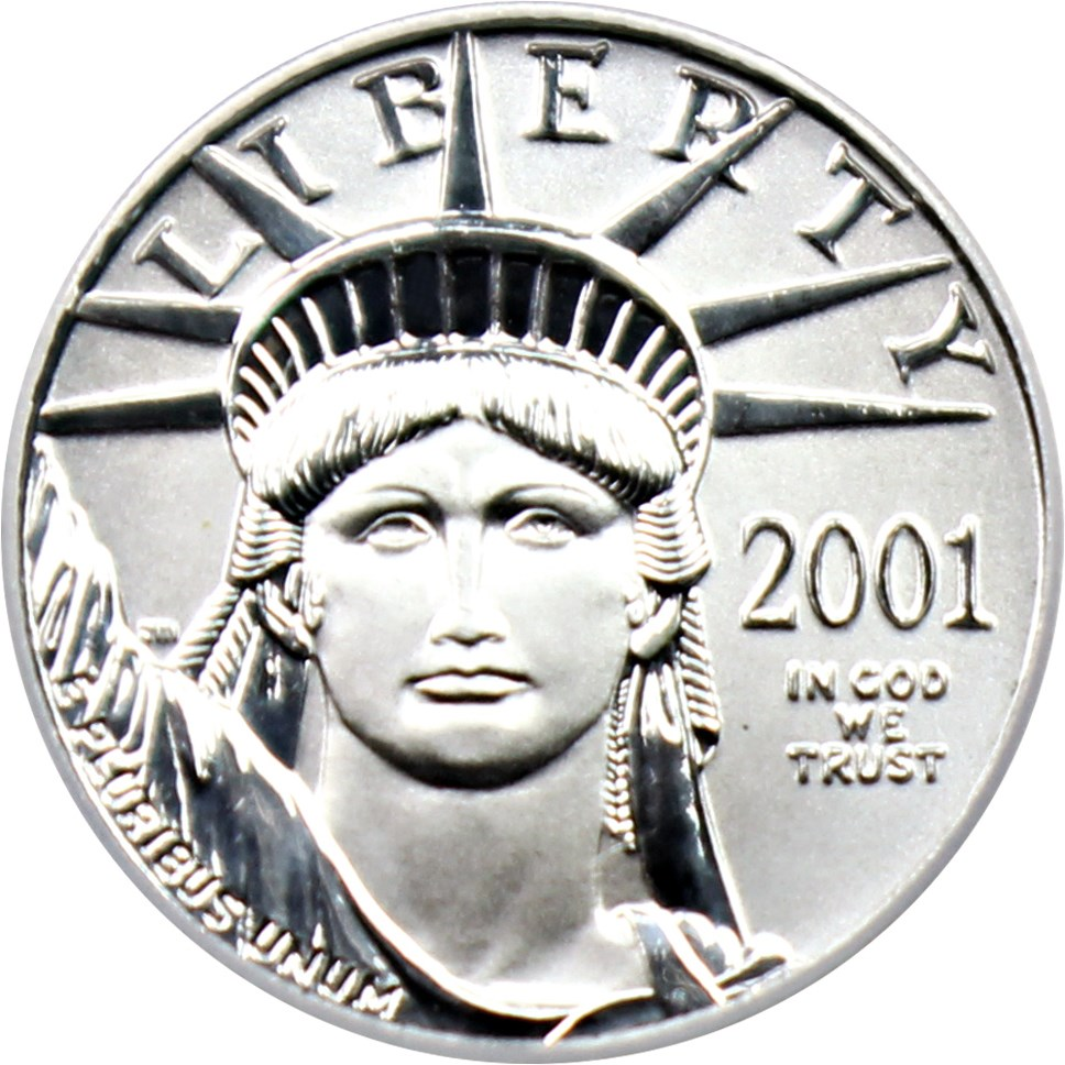 sample image for 2001 Platinum Eagle $10  MS