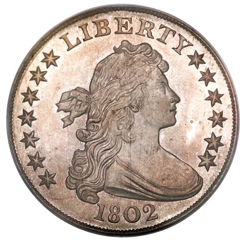 sample image for Draped Bust Dollar, Lg. Eagle [Type]