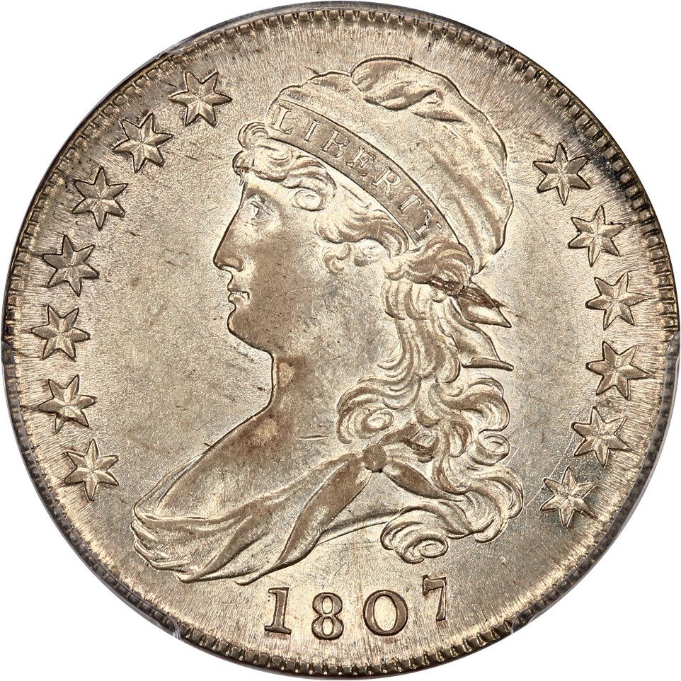sample image for Capped Bust Half (Lett Edge) [Type]