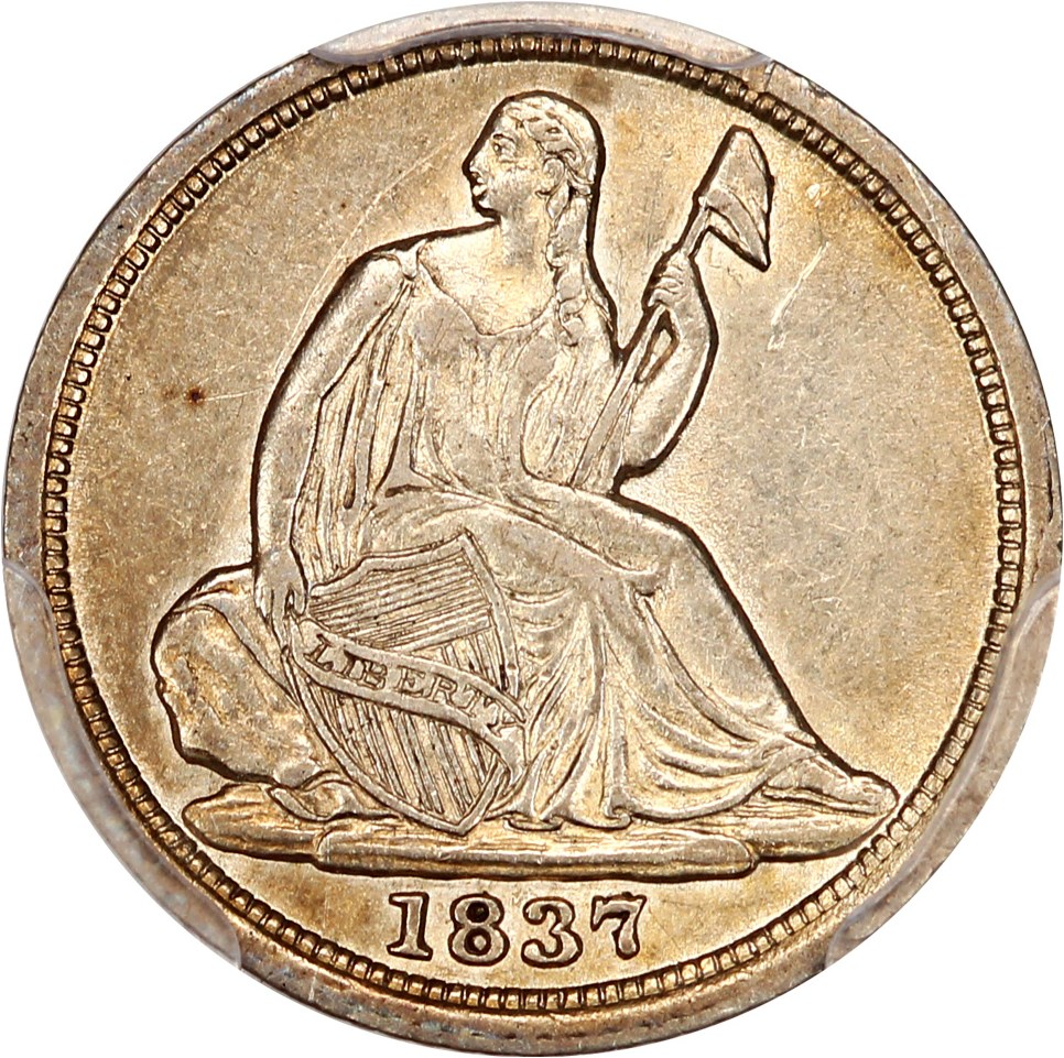 Liberty Seated Half Dimes image