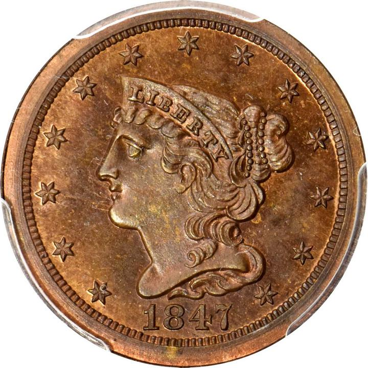 sample image for Braided Hair Half Cent RB [Type]