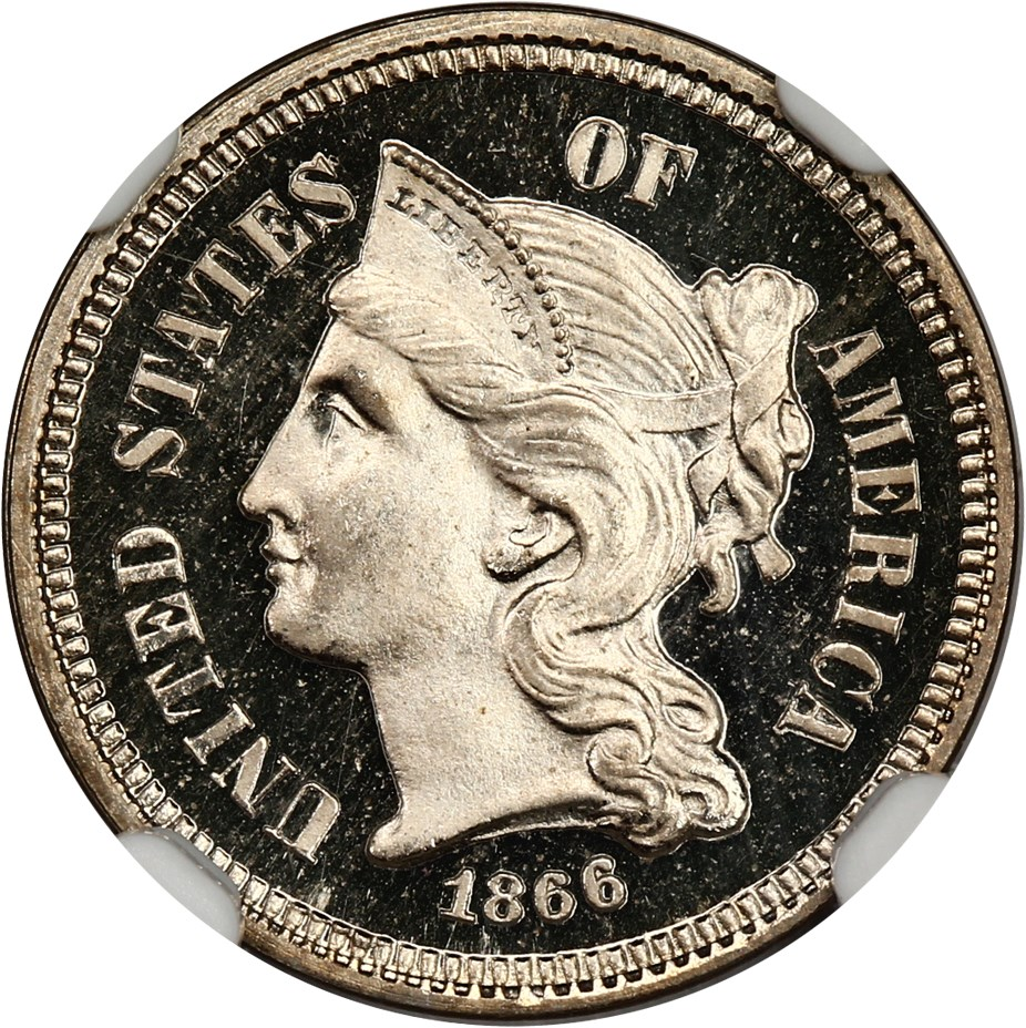 3-Cent Nickels (Proof) image