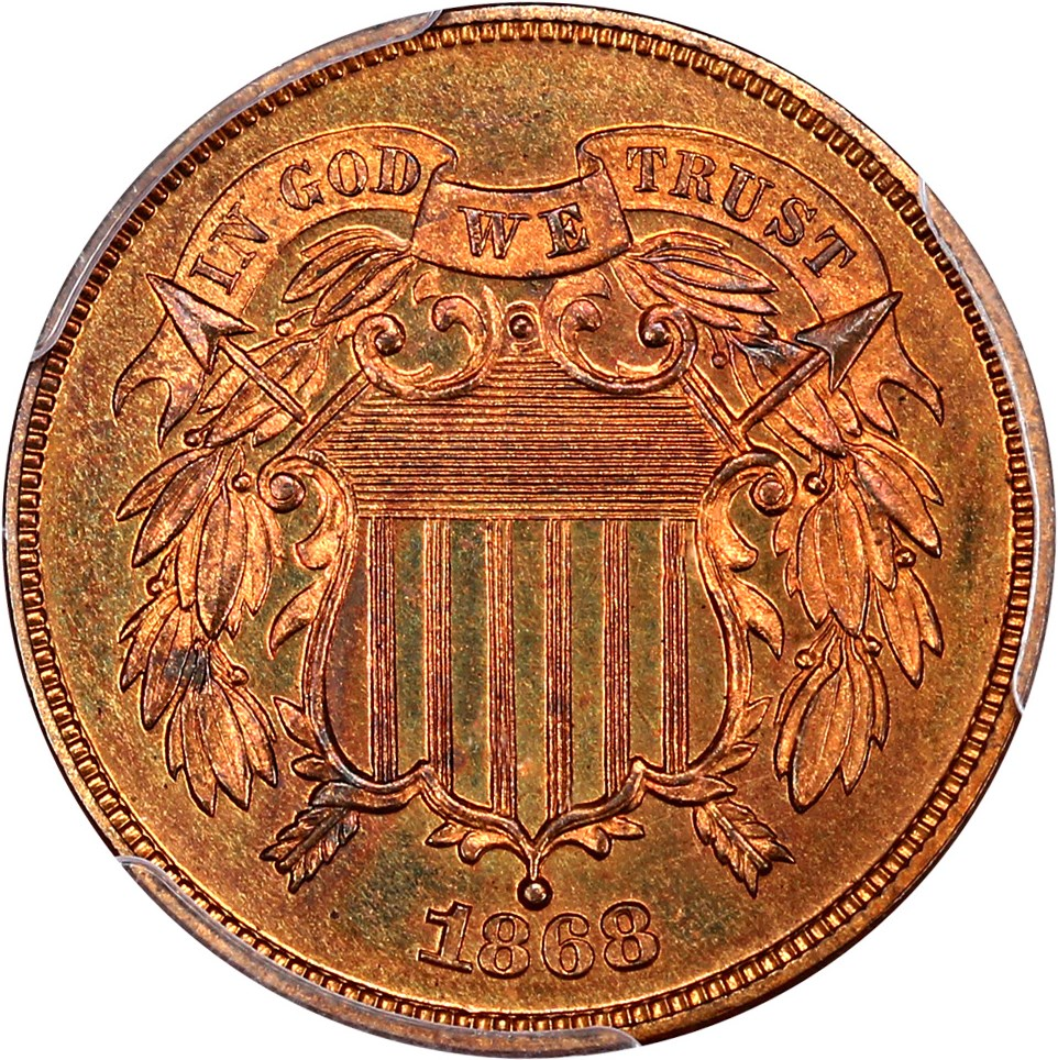 2-Cent Pieces (Proof) image