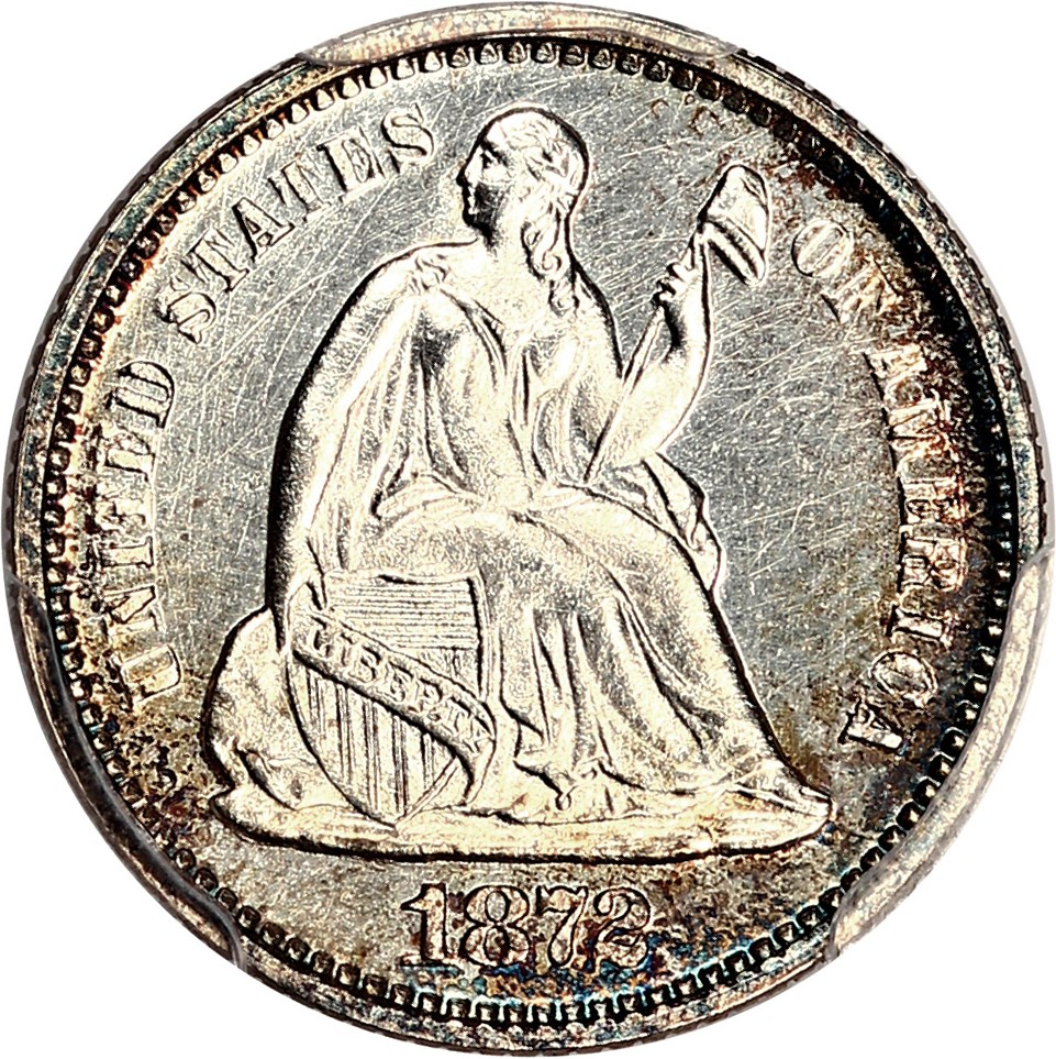sample image for 1860-1873 H10c PR Legend Obverse [Type]