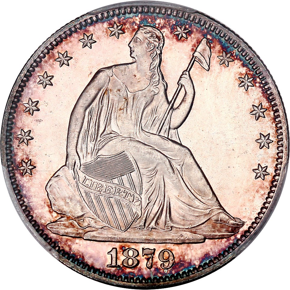 Liberty Seated Half Dollars image