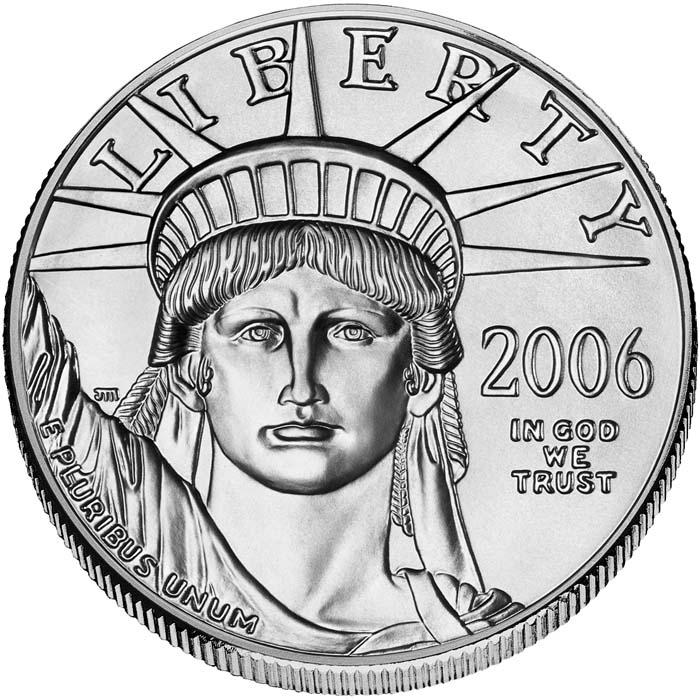 sample image for 2006 Platinum Eagle $100  MS