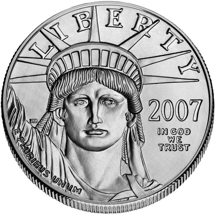 sample image for 2007 Platinum Eagle $100  MS